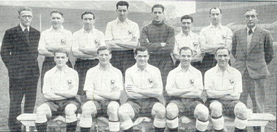 Spurs Championship Winning Team of 1950-51
