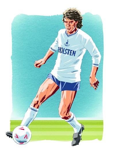 Spurs Odyssey Heroes Of Tottenham Glenn Hoddle
